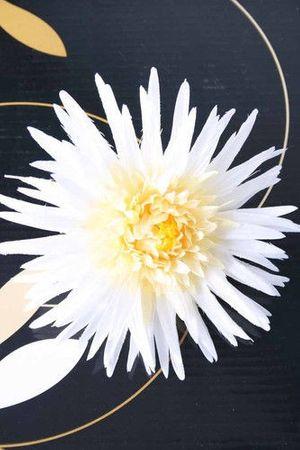 Gerbera Rockabilly Pin Up Blüten Haarspange – Bild 2
