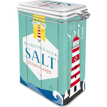 Salt - Home & Country retro Blechdose Vorratsdose Aromadose v. Nostalgic Art