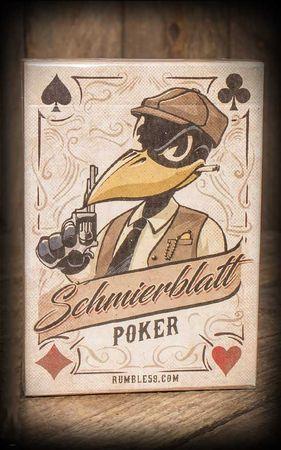 Schmiere Pokerblatt Schmierblatt Poker v. Rumble59