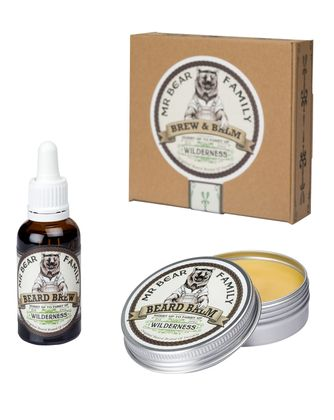 Mr. Bear Family Brew & Balm Bartpflege Set Wilderness