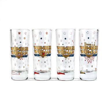 Wonder Woman Schnapsgläser Set Shot Glasses