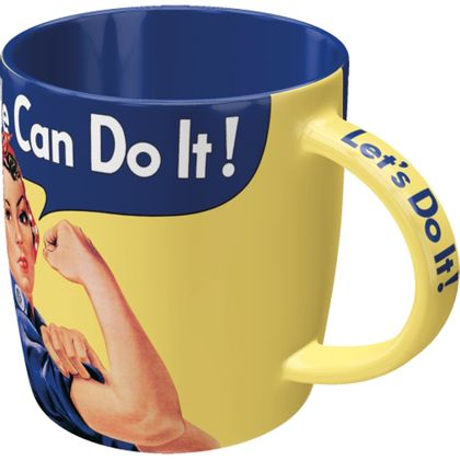 We can do it too - Special Edition - retro Tasse v. Nostalgic Art – Bild 2