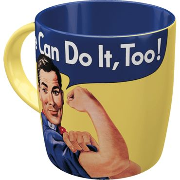 We can do it too - Special Edition - retro Tasse v. Nostalgic Art