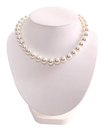 50s Pin Up retro Kunststoffperlen Kette Rockabilly Halskette – Bild 2