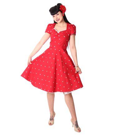 Tanisha Herzchen 50er retro Petticoat Kleid v. SugarShock