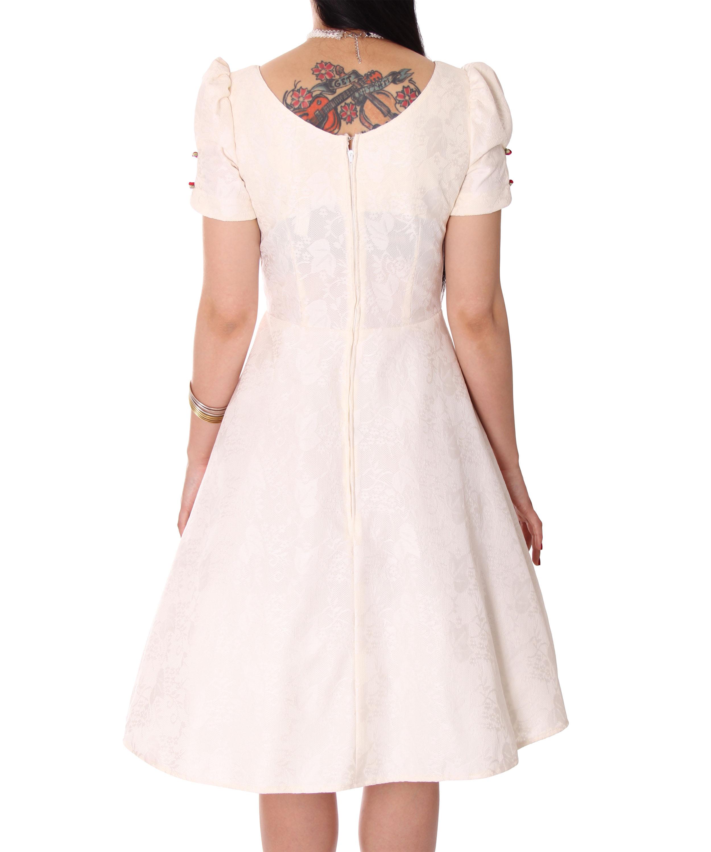 edles Cheyenne 50er retro Spitzen Brautkleid Petticoat ...