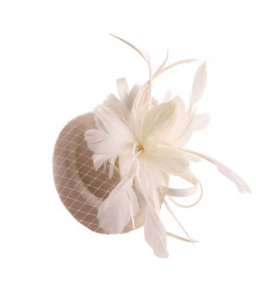 Burlesque Headpiece Fascinator Pillbox retro Mini Hut Haarschmuck – Bild 6