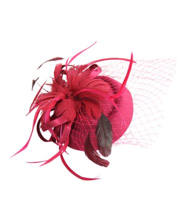 Burlesque Headpiece Fascinator Pillbox retro Mini Hut Haarschmuck – Bild 8