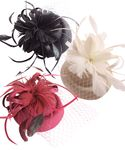 Burlesque Headpiece Fascinator Pillbox retro Mini Hut Haarschmuck