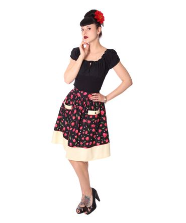 Runja Tulip Pin Up 50er Jahre Tulpen retro Rock v. SugarShock – Bild 2