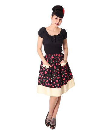 Runja Tulip Pin Up 50er Jahre Tulpen retro Rock v. SugarShock – Bild 3