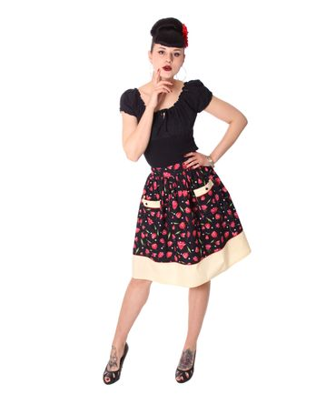 Runja Tulip Pin Up 50er Jahre Tulpen retro Rock v. SugarShock – Bild 6