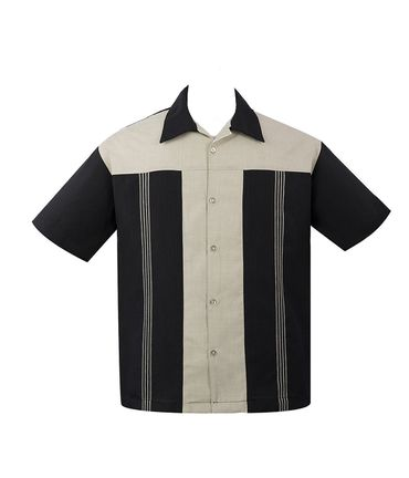 Panel Loungeshirt Casino Shirt Herren Hemd v. Rock Steady Clothing