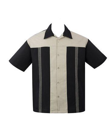 Panel Loungeshirt Casino Shirt Herren Hemd v. Rock Steady Clothing