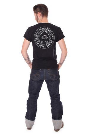 Born to Lose oldschool Tattoo Pik Herren T-Shirt v. Liquor Brand
