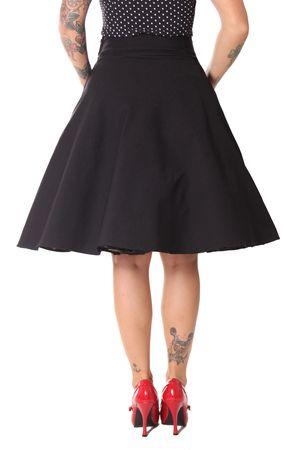 Oletta 50s retro Sailor Tellerrock Petticoat Rock v. SugarShock – Bild 6