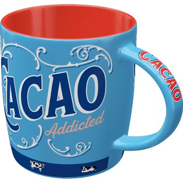 Nostalgic Art Cacao Addicted 50s retro Tasse – Bild 2