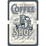 Nostalgic Art Ape Coffee Shop retro Blechschild 001