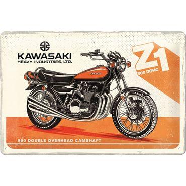 Nostalgic Art Kawasaki Motorcycle Z1 retro Blechschild