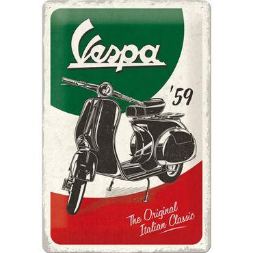 Nostalgic Art  Vespa the Italian Classic retro Blechschild