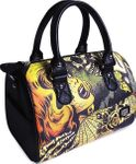 Horror Tattoo Round Bag Handtasche Tasche v. Liquor Brand 001
