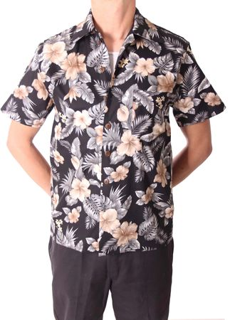 FINE49 retro Kahekili Hawaii Blüten Hemd Hawaiian Shirt – Bild 3