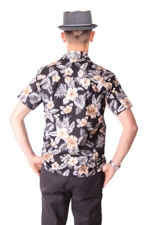 FINE49 retro Kahekili Hawaii Blüten Hemd Hawaiian Shirt – Bild 4