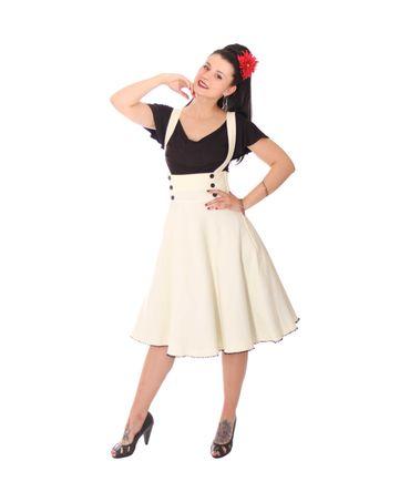 SugarShock Valentina 40er retro Hosenträger Petticoat Rock – Bild 3