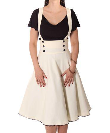 SugarShock Valentina 40er retro Hosenträger Petticoat Rock – Bild 5