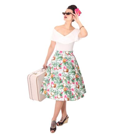 SugarShock Kanaia Hawaii 50er Jahre retro Petticoat Swing Rock – Bild 4