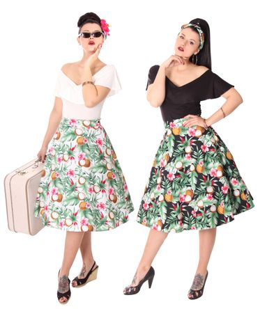 SugarShock Kanaia Hawaii 50er Jahre retro Petticoat Swing Rock – Bild 1