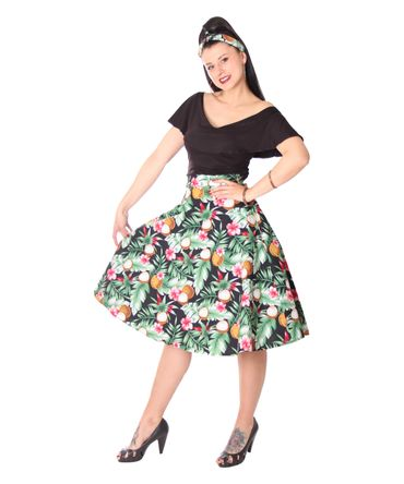 SugarShock Kanaia Hawaii 50er Jahre retro Petticoat Swing Rock – Bild 10
