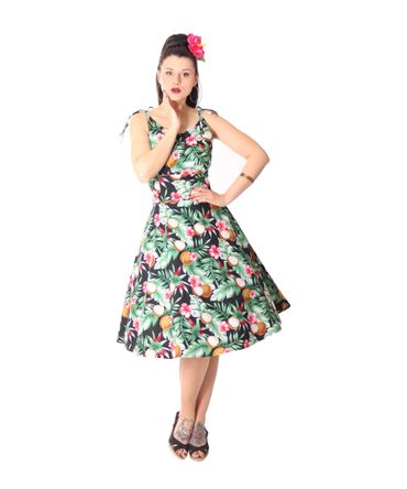 SugarShock Aloma Hawaii 50s retro Swing Kleid – Bild 2