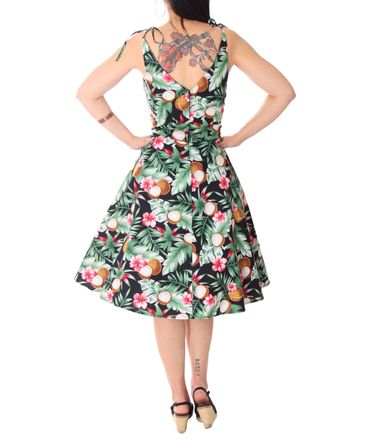 SugarShock Aloma Hawaii 50s retro Swing Kleid – Bild 8