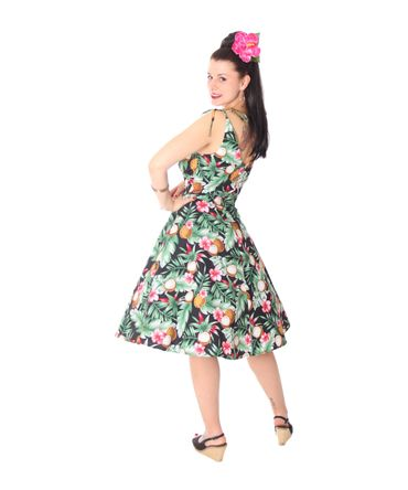 SugarShock Aloma Hawaii 50s retro Swing Kleid – Bild 9