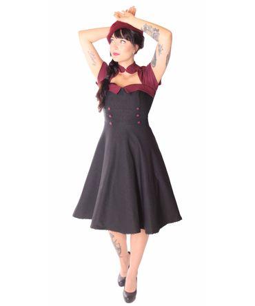 SugarShock Harbor 50s retro Petticoat Bolero Kleid – Bild 3
