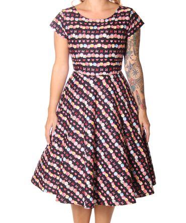 SugarShock Ninive Cupcake Macarons 50er repro Petticoat Kleid – Bild 5