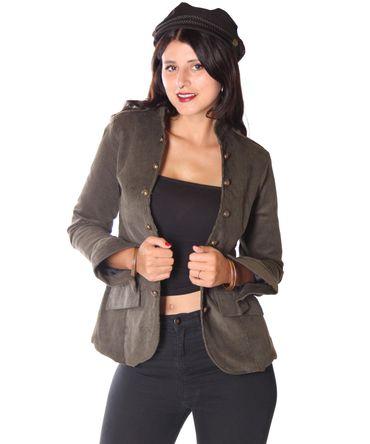 SugarShock Lumpini 50s retro Uniform style Blazer Cordjacke – Bild 8