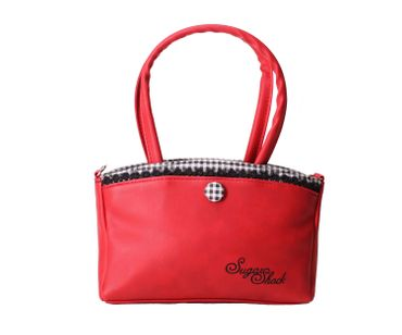 SugarShock Thaynara 2-tone Gingham Handtasche klein – Bild 1