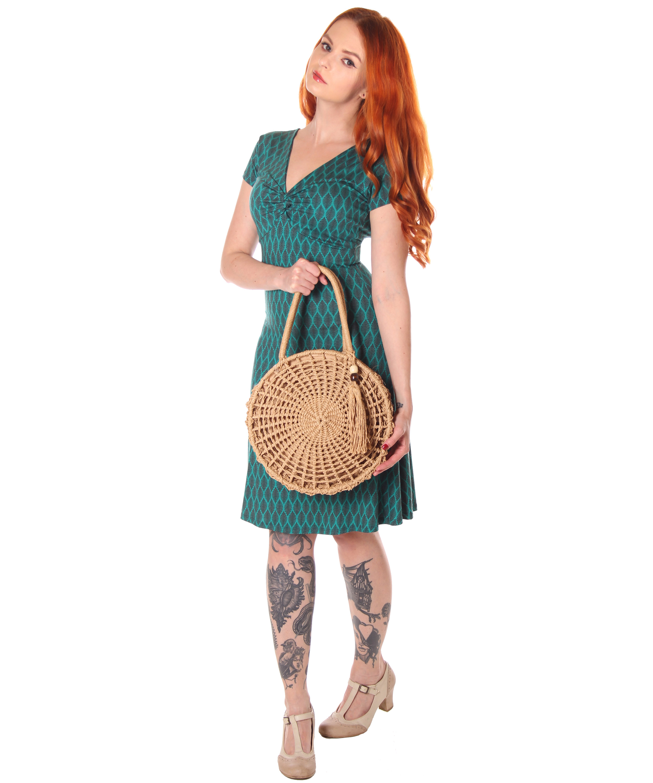SugarShock Yayla 18er retro Style Sommer Kleid A-Linie