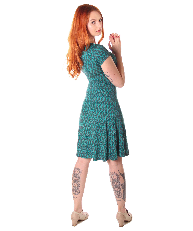 SugarShock Yayla 14er retro Style Sommer Kleid A-Linie