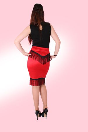 Donka Western High Waist Pencil Rock