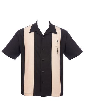 ST. PIERRE 3 Star Panel Loungeshirt Casino Shirt