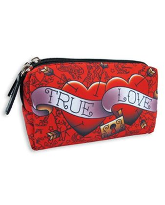 TRUE LOVE HEARTS Kosmetiktasche
