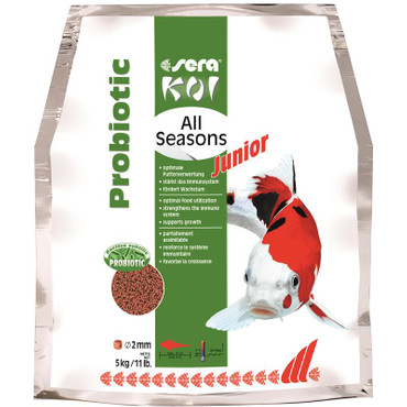1x sera Koi Junior All Seasons Probiotic 5 kg