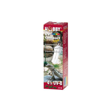1x Dohse HOBBY UV Compact Jungle, 23 W, 4% UVB – Bild 3