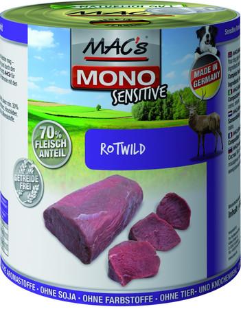 MACs Dog Mono Sensitive Rotwild 800 g VE 6x