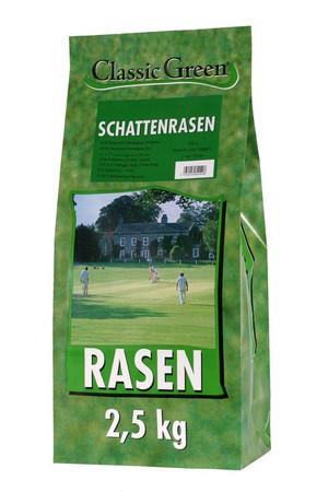 Classic Green Rasen Schattenrasen Plastikbeutel 2,5kg VE 4x
