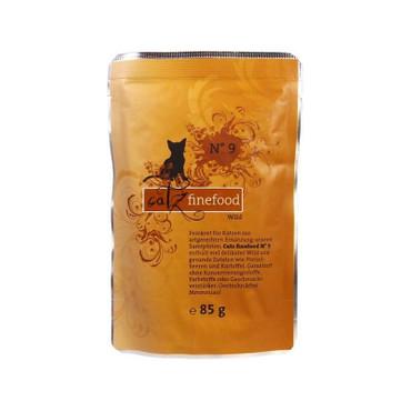 Catz finefood No. 9 Wild 85g VE 16x