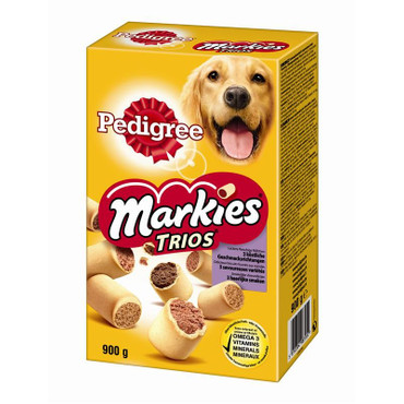 10x Pedigree Markies Trios 900g – Bild 1